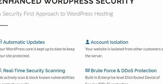 Known vulnerabilities wordpress hosting