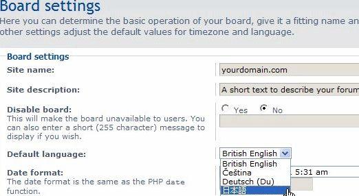 Bahasa ro Phpbb hosting