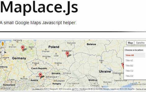 Maplace js wordpress hosting