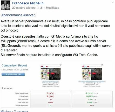 Miglior hébergement italiano sites wordpress