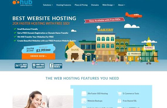 Miglior hosting setiap laman web drupal