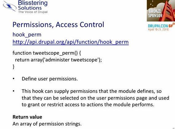 모듈 보조금은 드루팔 호스팅을 모니터링
