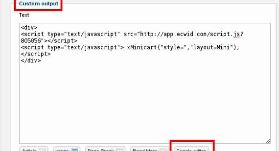 Modulo javascript joomla hosting