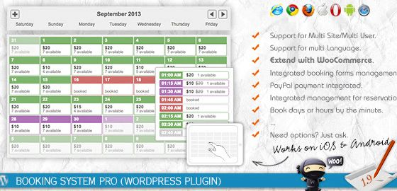 Multi booking system wordpress hosting