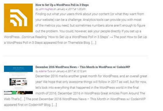 Multiple news feeds wordpress hosting