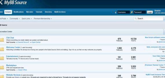 MyBB motyw vBulletin hosting