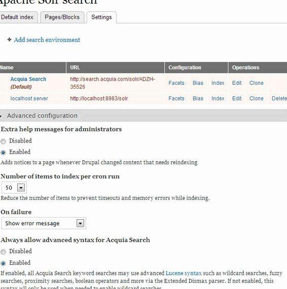 Newshosting 검색 API를 드루팔