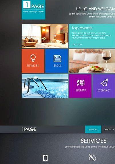 Jedna strona strona Drupal hosting