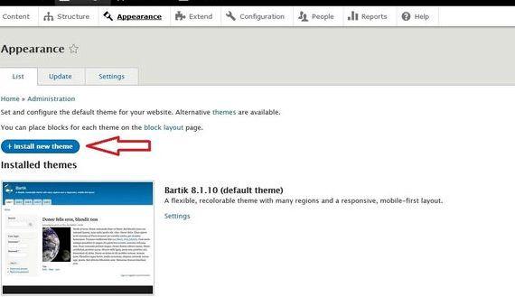 ओपन सूची Drupal होस्टिंग