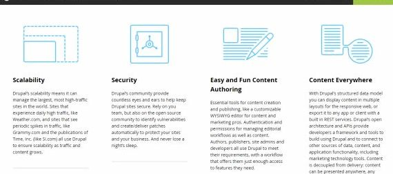 Buka menerbitkan vs drupal hosting