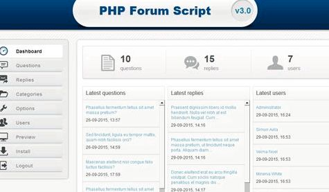 forum Phpbb hosting script php