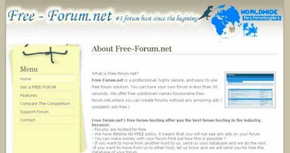 Phpbb forum percuma Phpbb hosting