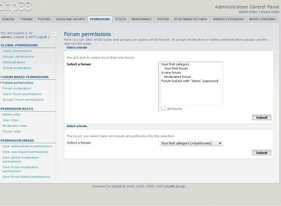 PhpBB3 wielo- forum hosting opinie