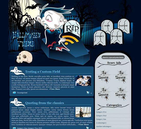 PhpBB3 wielo forum hosting skrypt na halloween
