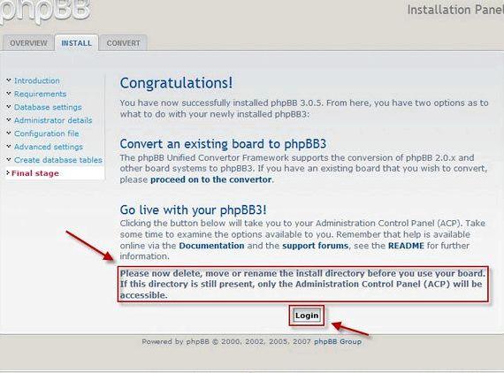 PhpBB3 wielo forum hosting www