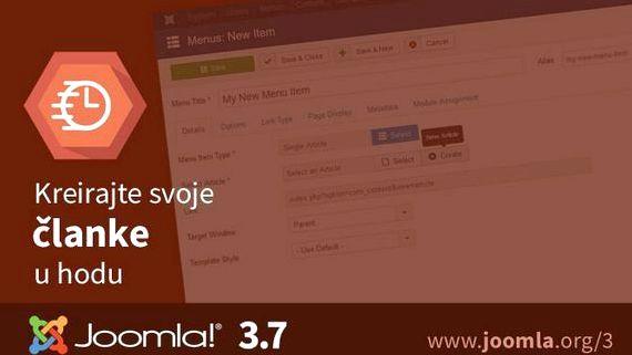 Pravljenje sajta u joomla hosting