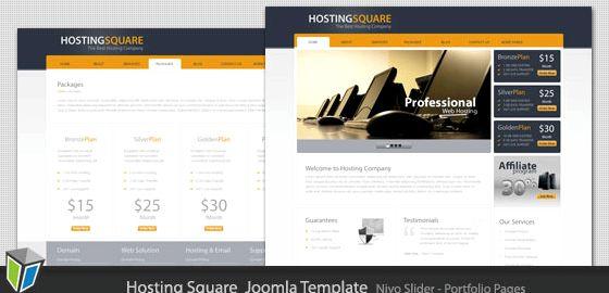 Sg web hosting joomla template