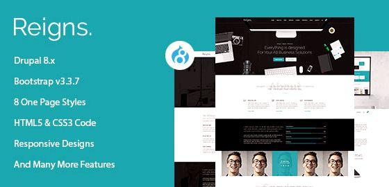 صفحه تنها میزبانی وب سایت های دروپال