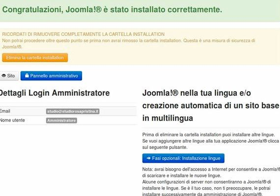 世都multilingua的Joomla托管