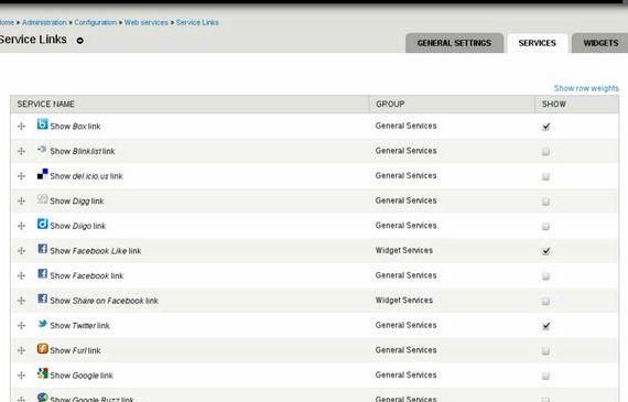 więzi społecznych moduł Drupal hosting
