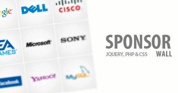 Sponsor wall joomla hosting
