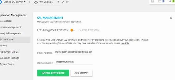 Ssl multi site d'hébergement wordpress