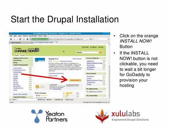 Mulakan dengan hosting drupal