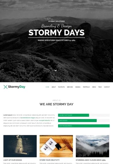 hari Stormy wordpress hosting