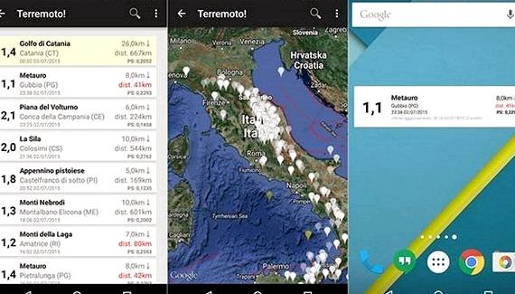 Terremoti INGV hébergement wordpress