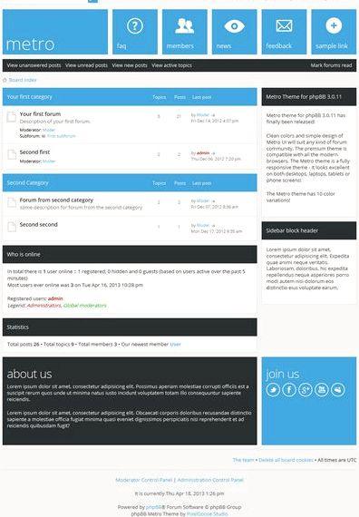 Temat forum phpbb hosting gratuit