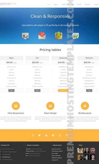 Motyw specyficzna strona Drupal hosting