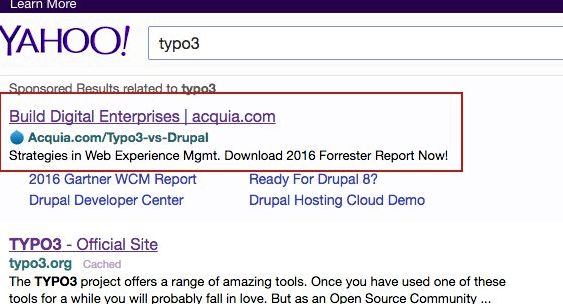 Typ03 vs Drupal hosting