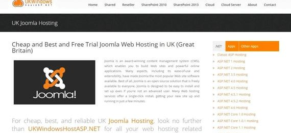 Uk joomla hosting opinie