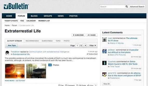 VBulletin forum hosting percuma adat