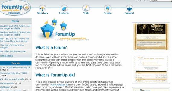 VBulletin forum percuma vBulletin hosting