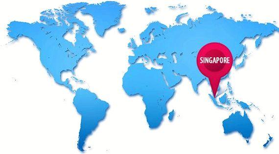 VBulletin hosting Australia map