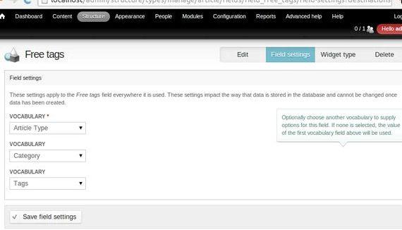 rujukan perbendaharaan kata drupal hosting