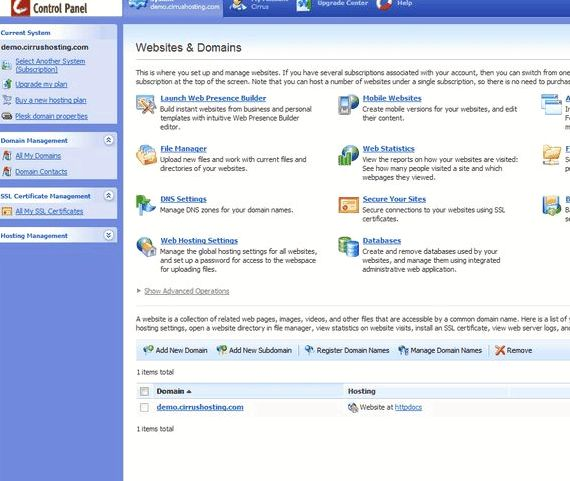 웹 캐나다 드루팔 7 호스팅