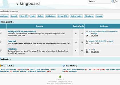 fora Web Wiz do vBulletin hosting
