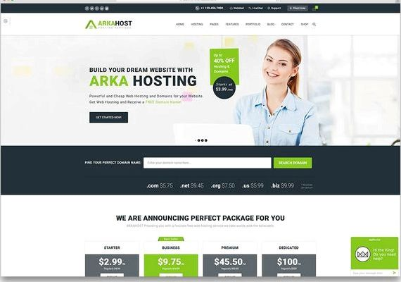 Website-Thema Free Wordpress Hosting