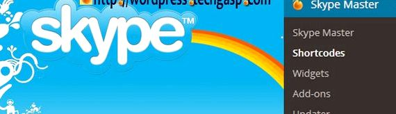 skype Widget setiap hosting wordpress