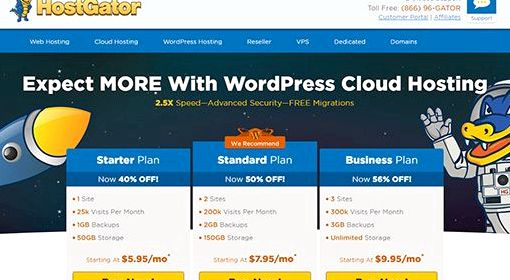 Wordpress free hosting limitations of research
