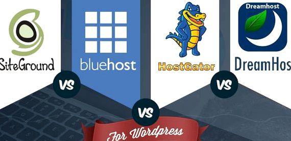 Wordpress hébergement GoDaddy vs bluehost Si vous