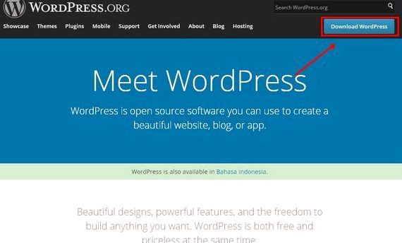Hiçbir hostinger Endonezya wordpress