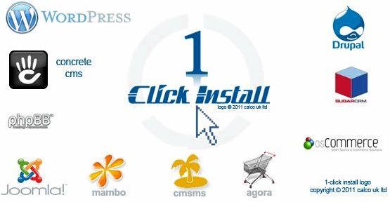 Wordpress jednym kliknięciem zainstalować firm hostingowych