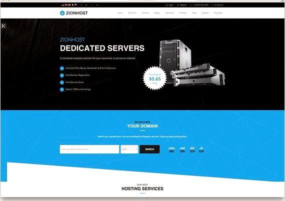 Wordpress वेब मुक्त टेम्पलेट की मेजबानी के लिए खुद को प्रस्तुत