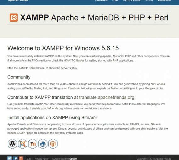 Xampp wordpress múltiplas site de hospedagem