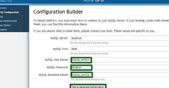 Xenforo wordpress için gereksinimleri hosting