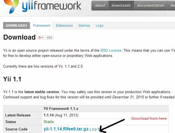 Yii framework vs joomla hosting